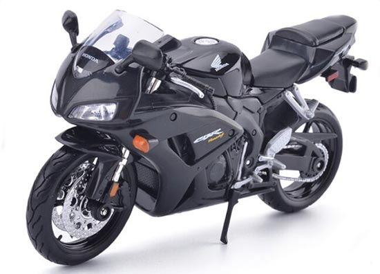 1:12 Scale Black Maisto Diecast Honda CBR1000RR Model