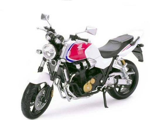 Red / Black / White 1:12 Scale Diecast Honda CB1300SF Model