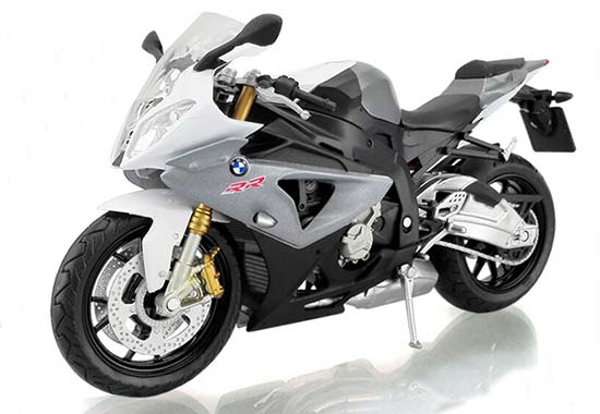 Blue / Black / Red / Gray 1:12 Diecast BMW S1000RR Model