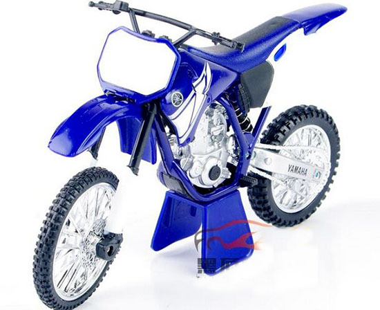 Blue 1:12 Scale NewRay Diecast Yamaha YZ 426F Model