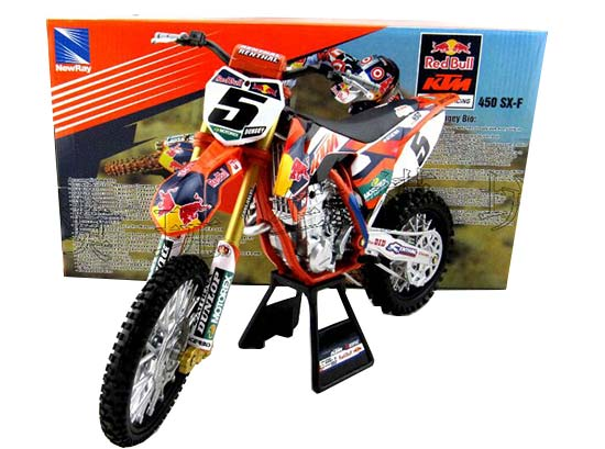 1:6 Large Scale NewRay Diecast KTM 450 SX-F Model