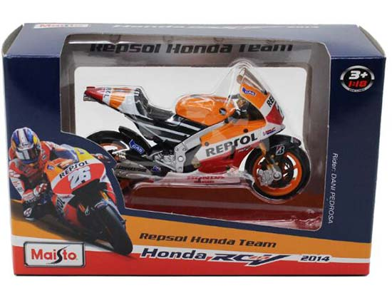 1:18 Scale MaiSto NO.26 Die-Cast 2014 Honda RC213V Model