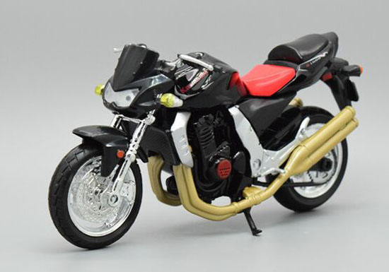 Black 1:18 Scale MaiSto Diecast Kawasaki Z1000 Model