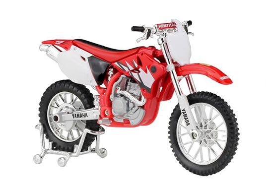 Red 1:18 Scale MaiSto Diecast Yamaha YZ-450F Model
