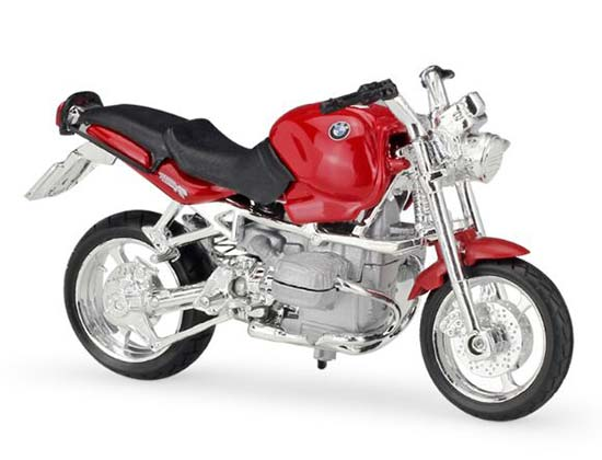 Red 1:18 Scale MaiSto Diecast BMW R1100R Model