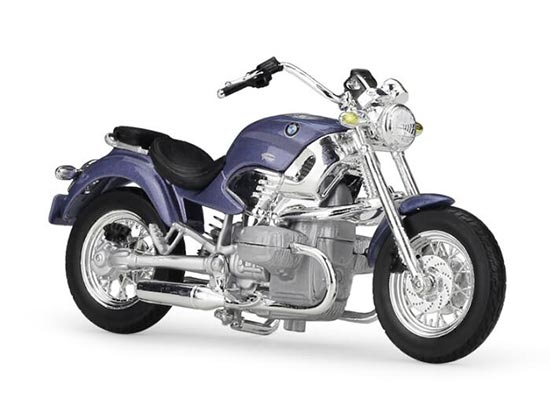 Blue 1:18 Scale MaiSto Diecast BMW R1200C Model