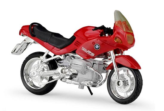 1:18 Scale Red MaiSto Diecast BMW R1100RS Model