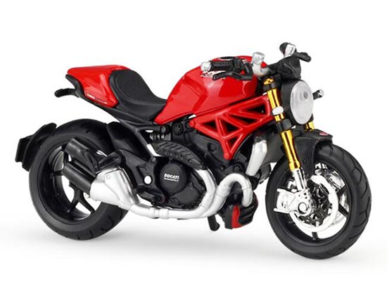 Red 1:18 Scale MaiSto Diecast Ducati Monster 1200S Model