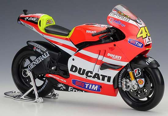 1:10 Red Maisto Diecast Ducati Desmosedici Motorcycle Model