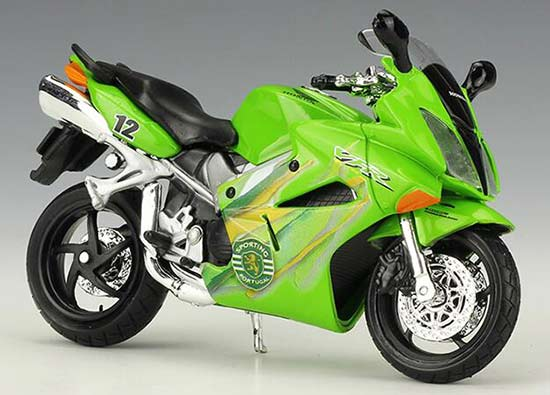 1:18 Scale Green Maisto Diecast 2002 Honda VFR Model