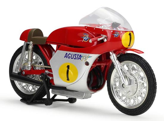 1:12 Scale Red No.1 NewRay Diecast MV Agusta Model