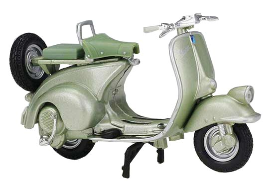1:18 Scale Diecast 1951 Vespa Hoffmann 125 Scooter Model