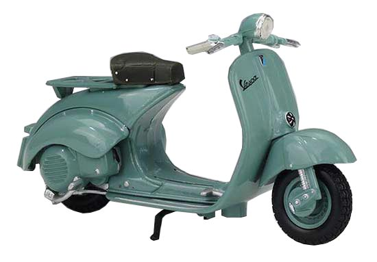 1:18 Scale Maisto Diecast 1953 Vespa 125 U Scooter Model