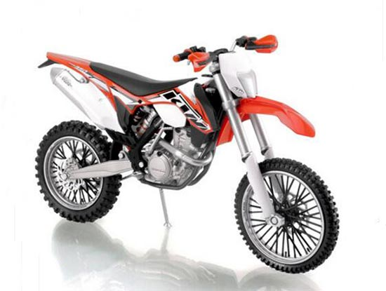 1:12 Scale Diecast KTM 350 EXC-F Motorcycle Model