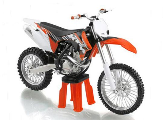 1:12 Scale Diecast KTM 350 SX-F Motorcycle Model
