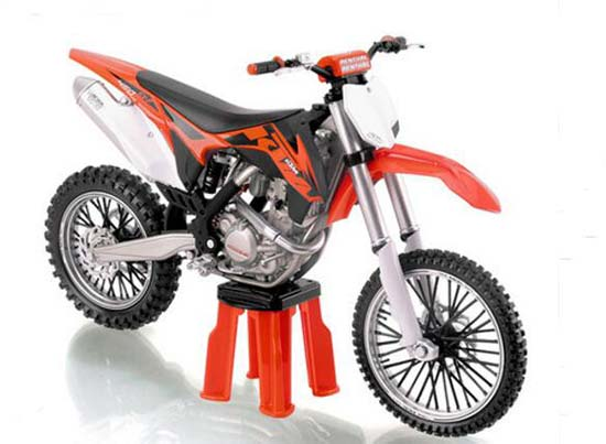 1:12 Scale Diecast KTM 450 SX-F Motorcycle Model