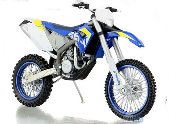 1:12 Scale Blue Diecast KTM FE-450 Motorcycle Model