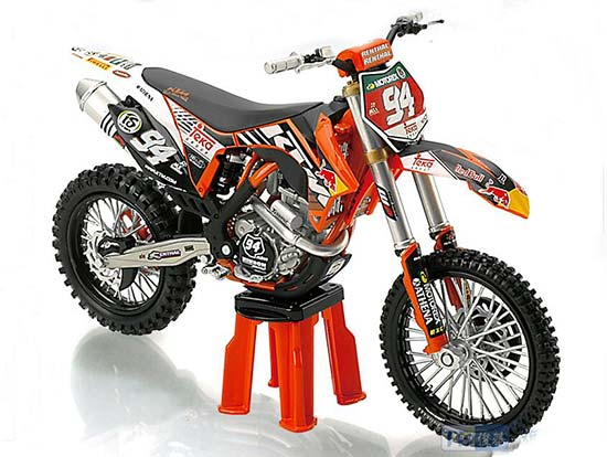 1:12 Scale NO.94 Diecast KTM 250 SX-F Motorcycle Model