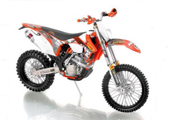 1:12 Scale DHL Diecast KTM EXC-F 2012 Motorcycle Model