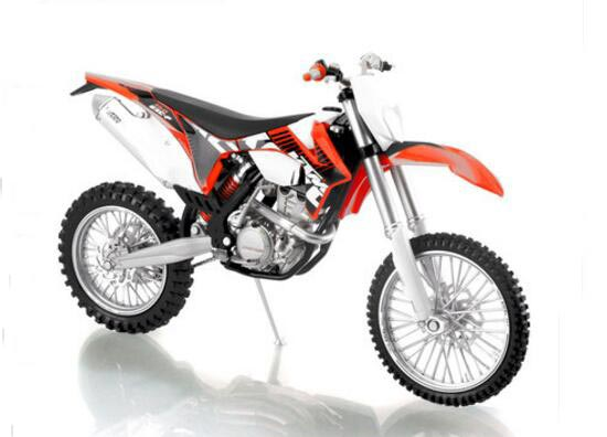 1:12 Scale Diecast KTM EXC-F Motorcycle Model