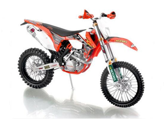 1:12 Scale DHL Diecast KTM EXC-F 2013 Motorcycle Model