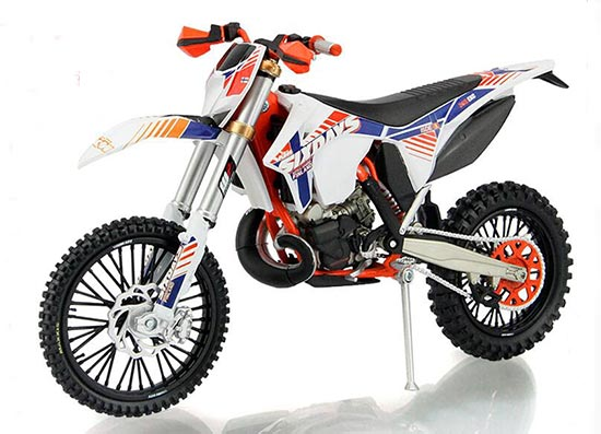 1:12 Scale Finland Diecast KTM 350 EXC-F Motorcycle Model