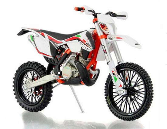 1:12 Scale Italy Diecast KTM 350 EXC-F Motorcycle Model