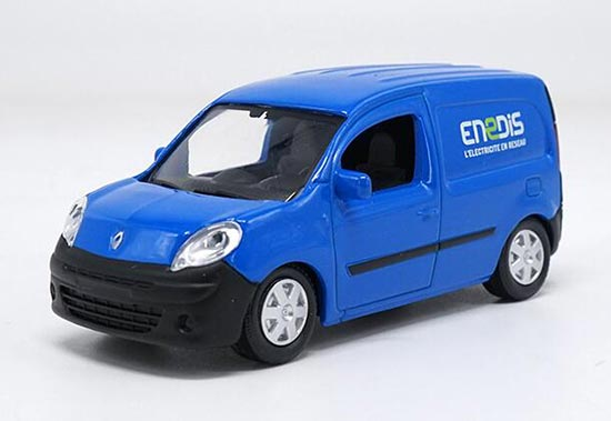 Blue 1:43 Scale Diecast Renault ENeDIS Model
