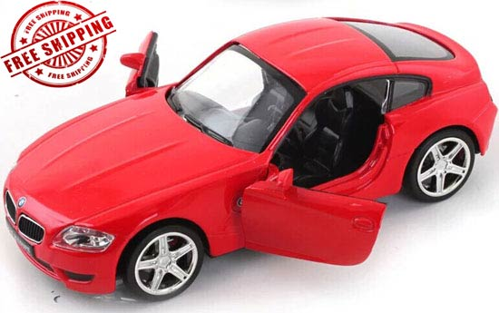 Red / Blue / White / Silver 1:32 Diecast BMW Z4 M Coupe Toy