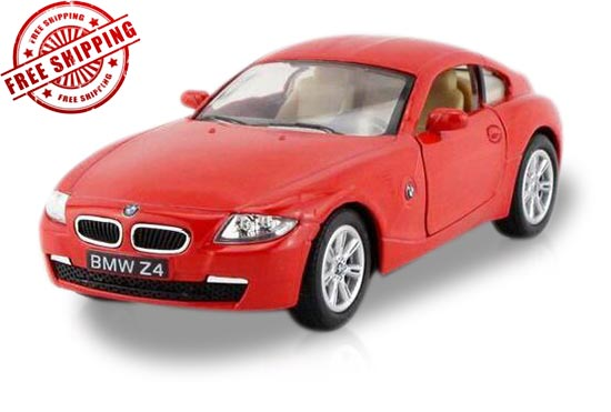Silver / Blue / Red / Black 1:36 Scale Diecast BMW Z4 Toy