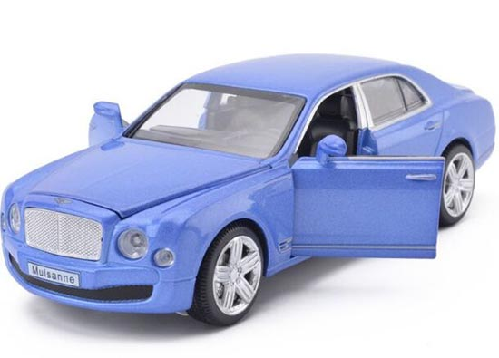 Purple / Blue / White /Golden 1:32 Diecast Bentley Mulsanne Toy