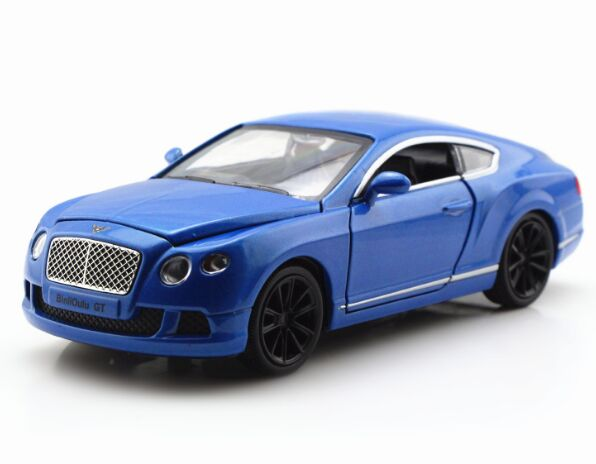 Red / Orange / Green / Blue 1:32 Diecast Bentley Continental GT