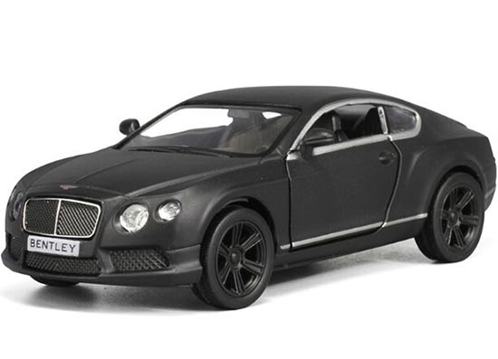 Kids Black 1:36 Scale Diecast Bentley Continental Toy