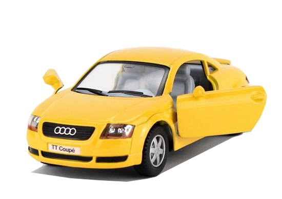 Red / Blue / Yellow / Black Kids 1:32 Diecast Audi TT Coupe Toy