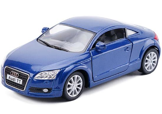 1:32 Scale Red / Blue / Silver / Black Kids Diecast Audi TT Toy