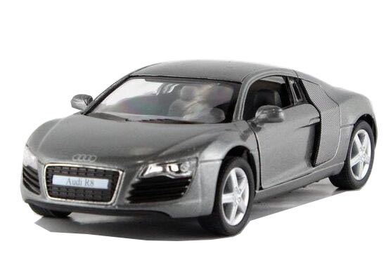Red / Blue / Silver / Gray 1:36 Kids Diecast Audi R8 Toy