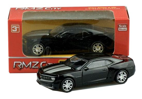Kids Black 1:64 Scale Diecast Chevrolet Camaro Toy