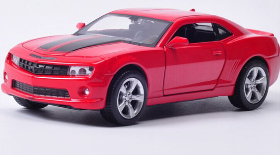 Yellow / Red Kids 1:32 Scale Diecast Chevrolet Camaro Toy
