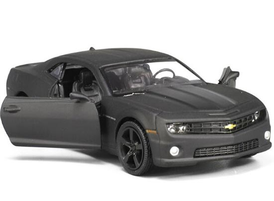 Kids 1:36 Scale Black Diecast Chevrolet Camaro Toy