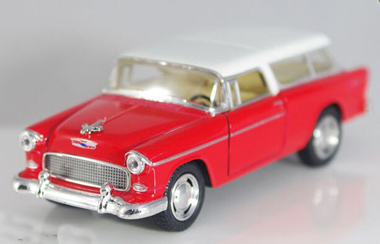 1:36 Kids Red / Blue / Green / Wine Red Diecast Chevrolet Nomad