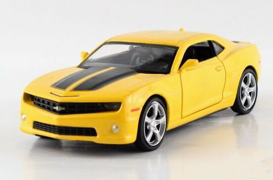 1:32 Kids Black / Red / Yellow Diecast Chevrolet Camaro Toy