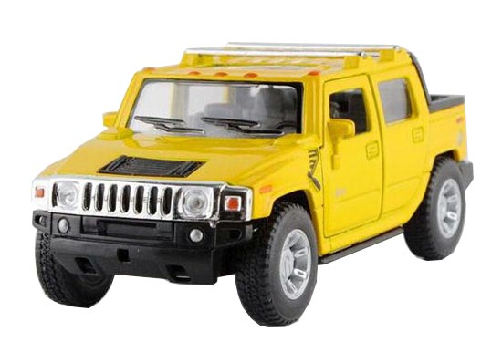 Blue / Red / Black /Yellow 1:40 Diecast Hummer H2 SUT Pickup Toy
