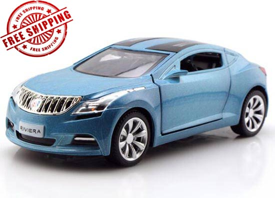 1:32 Black / Red / Yellow / Blue Kids Diecast Buick Riviera