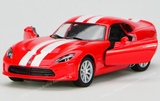 Kids Black / Yellow / Red / Blue Diecast Dodge Viper SRT Toy