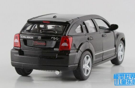 Black / Silver / Red / Blue 1:34 Diecast Dodge Caliber Toy