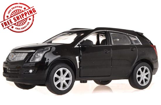 Kids 1:32 Black / Red / White Diecast Cadillac SRX Toy
