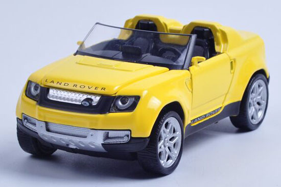 Kids Yellow / Red / Blue 1:36 Scale Diecast Land Rover Toy