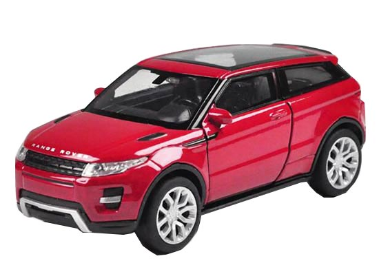 Kids Welly White /Red /Green 1:36 Diecast Land Rover Evoque Toy