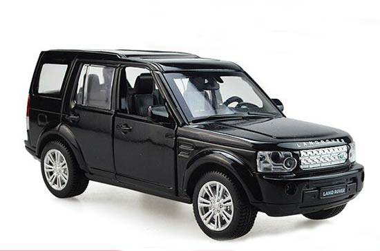 White / Silver / Black 1:32 Kids Diecast Land Rover Discovery