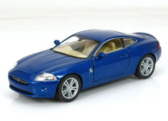 Blue / Red / Silver / Gray Kids Diecast Jaguar XK Coupe Toy